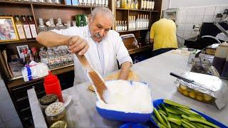 Middle Eastern Food - FAST COOKING SKILLS + Food Tour in Ancient Baalbek, Lebanon!