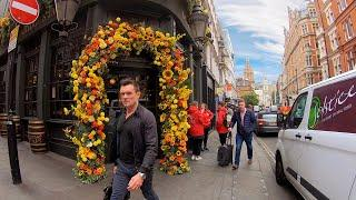 London Walk, COVENT GARDEN,  Leicester Square & Chinatown — Walking Tour 4K