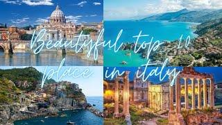 Top 10 Beautiful place in Italy ||  Travel video ||Travel