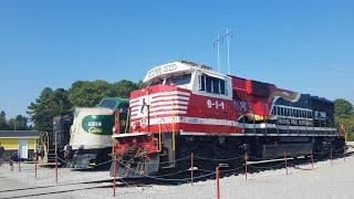 ( Tennessee Valley Railroad Museum Founders Day 2019 ) FT NS 911, SOU E8, SOU 4501, SOU 630, TAG 80