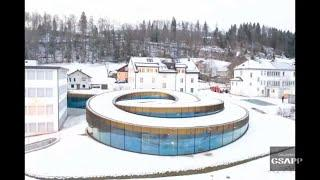 Bjarke Ingels explains Spiral Museum for Swiss Watchmaker